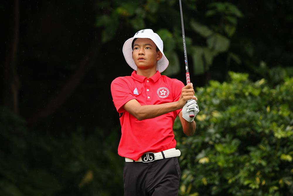 Taichi Kho will experience the WGC-HSBC Champions in Shanghai