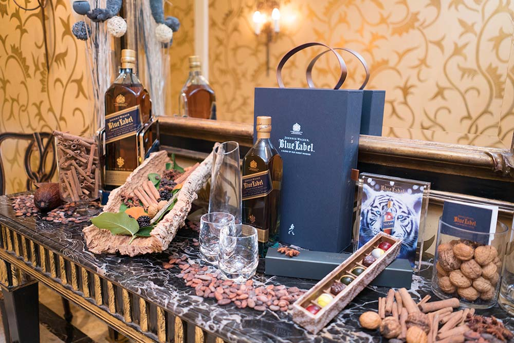 The Johnnie Walker Blue Label chocolate discovery gift set is available now at The Peninsula Boutique and selected specialised retail stores and is priced from HK$ 2,180
