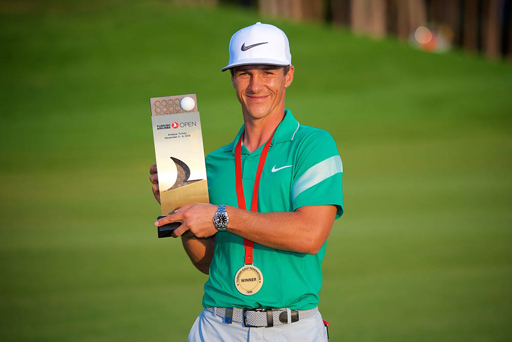 Thorbjørn Olesen claimed the Turkish Airlines Open title to become the only Dane to win on the European Tour in the 2016 season