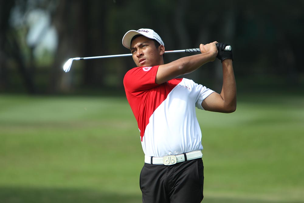 """I expect to learn a lot from the PGA TOUR China Series pros,"" D'Souza said"