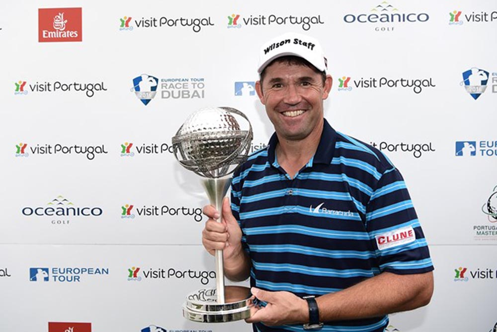 """""""It's always important to get a win every year,"""" Harrington said"""