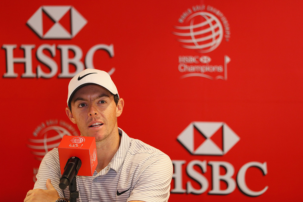 Rory McIlroy aims to extend his winning run in the World Golf Championships