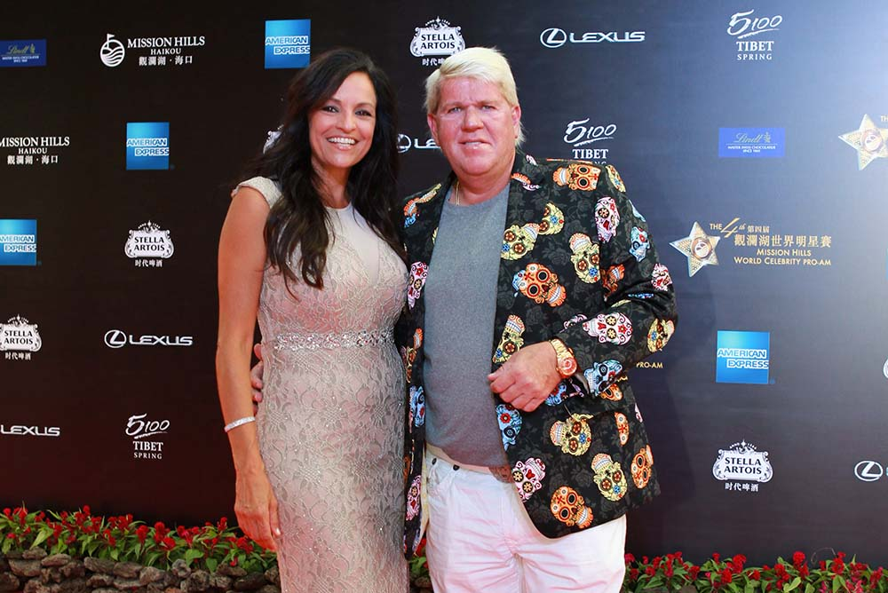 John Daly looking sharp as always