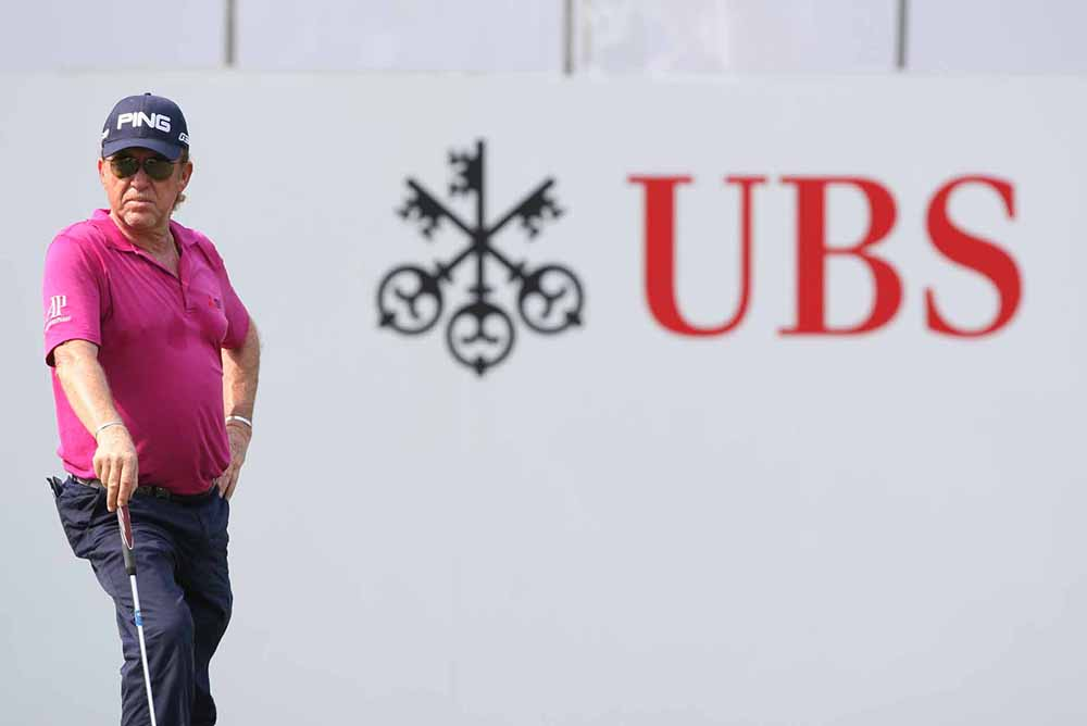 """I'm not sure what more I can say about how much I love the UBS Hong Kong Open,"" said Jiménez"