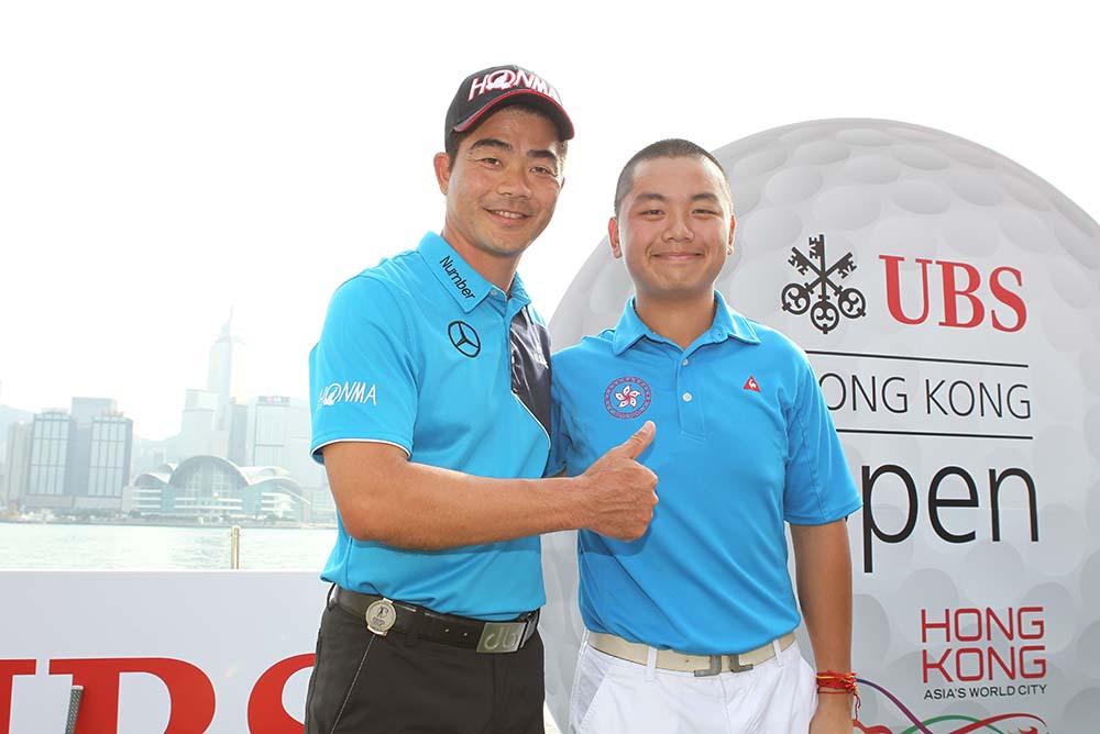 Liang Wen-chong and Humphrey Wong