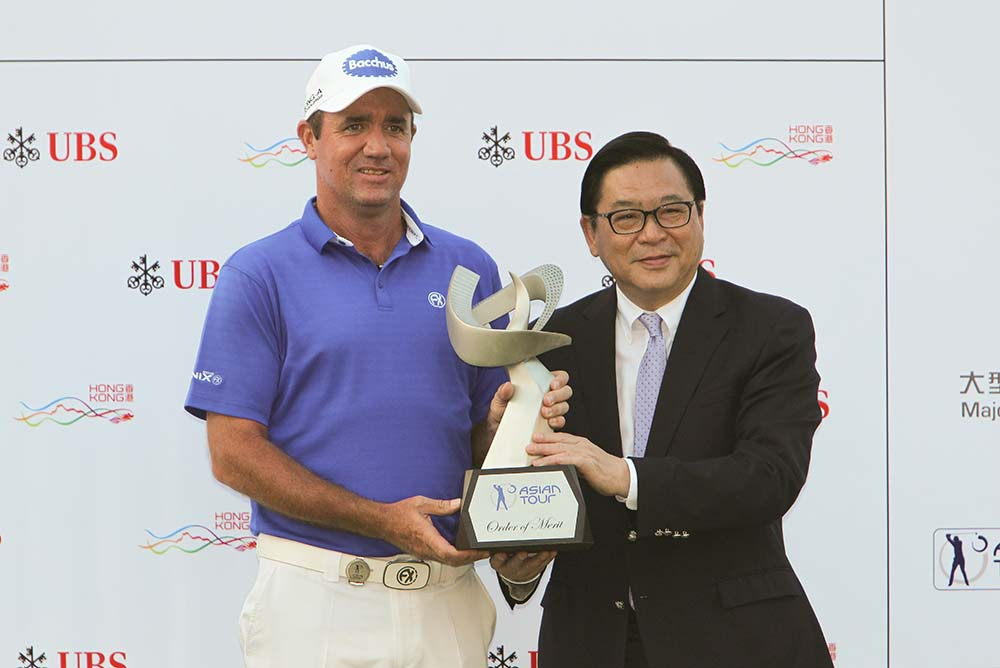 Scott Hend, 2016 Asian Tour Order of Merit champion