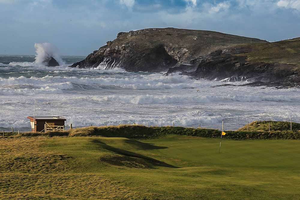 Trevose 4th Green
