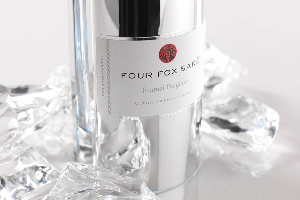 Four Fox Saké is a Junmai Daiginjo - only the highest designation given to the spirit, which means the impurities in the rice kernels are milled down as much as possible