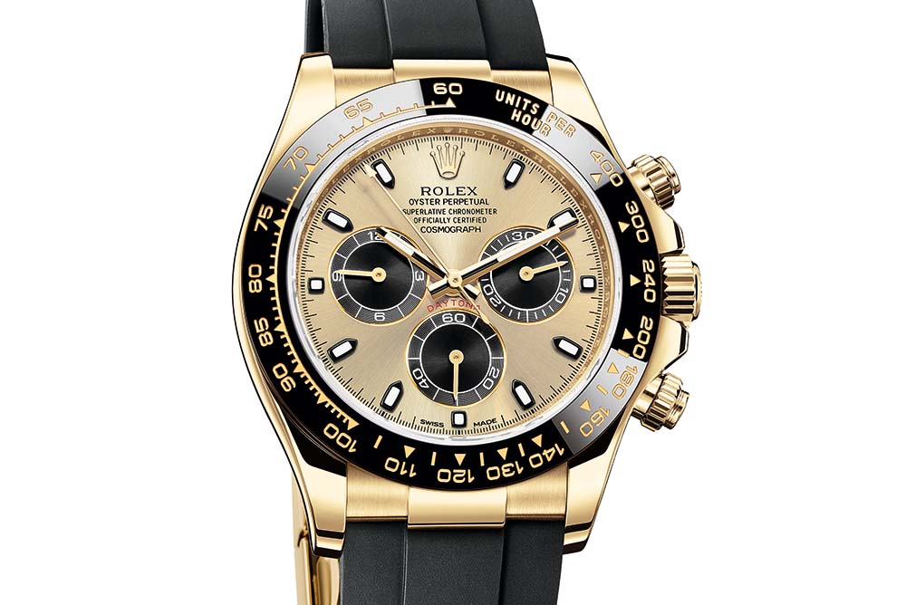 Oyster Perpetual Cosmograph Daytona in 18 ct yellow