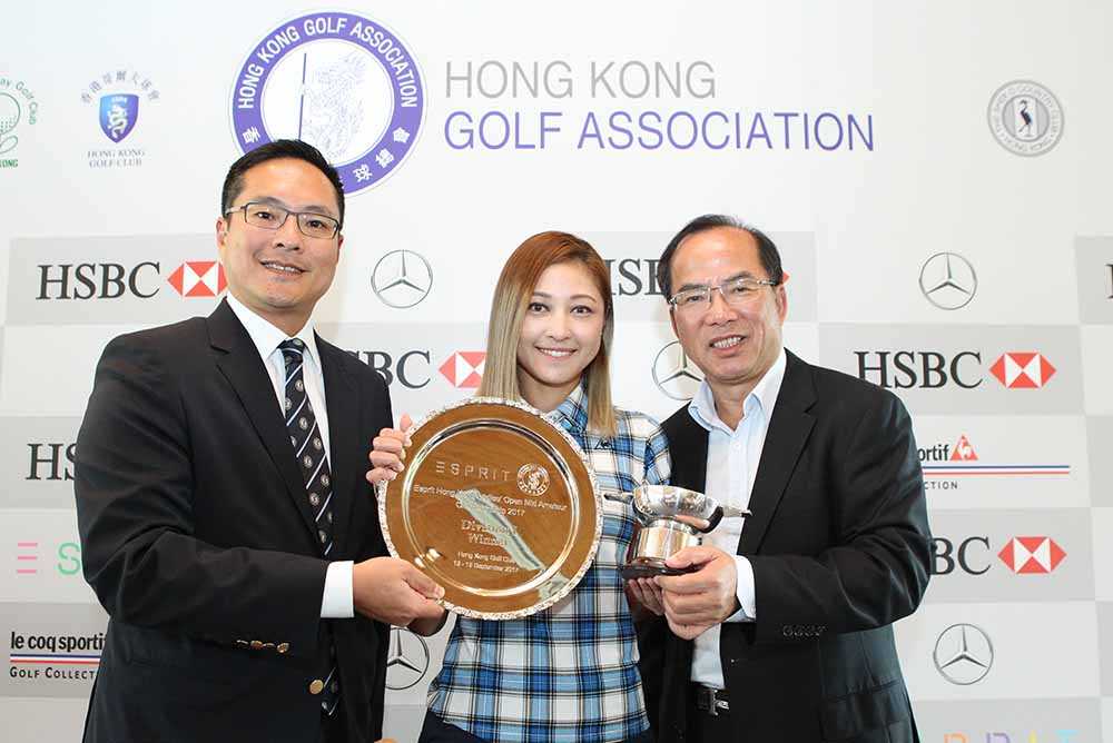 Cindy Lee won the Hong Kong Ladies Open Mid Amateur Divison 1