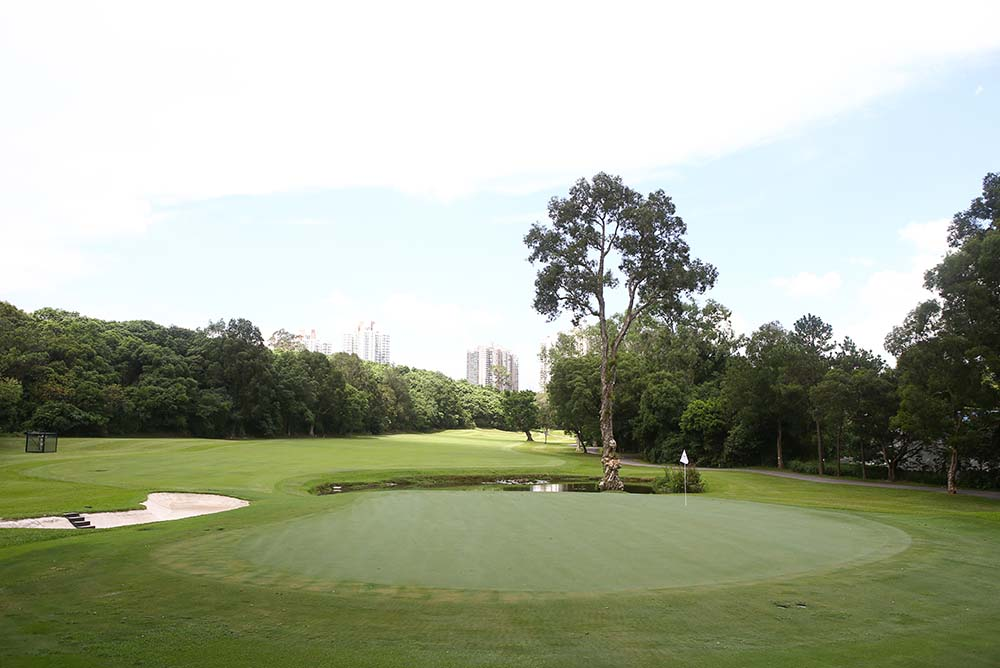 The Old Course at Fanling is a charming affair