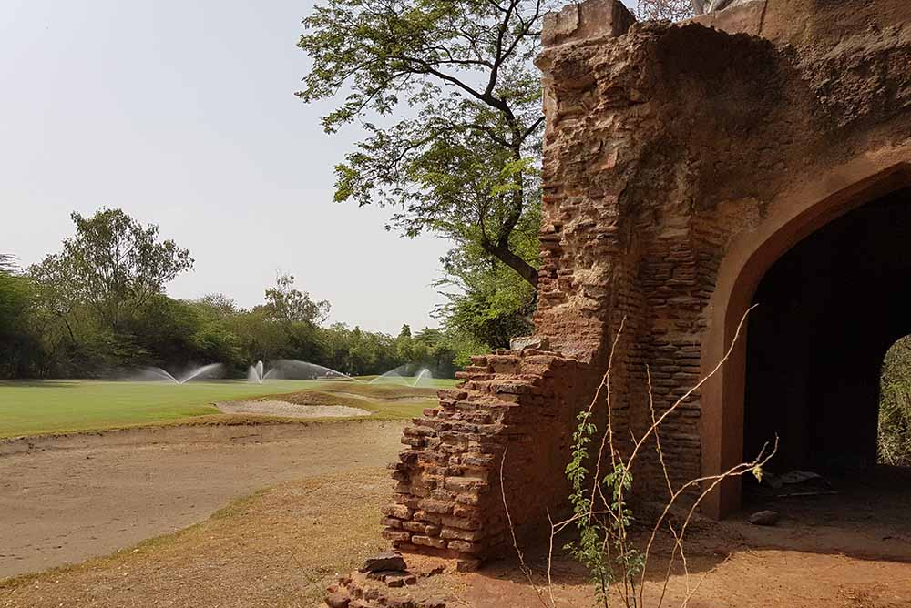 The famous Lodhi course which has hosted the Indian Open on numerous occasions