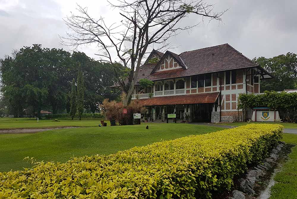Carey Island Sports Club is surely Malaysia's most quirky golf course