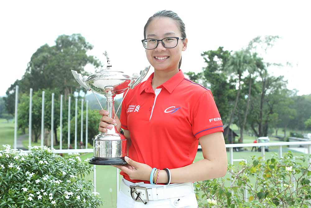 Hong Kong Ladies Open Amateur 2017 Champion Hou Yu-sang