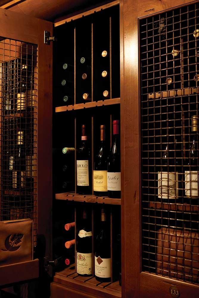 Member's wine cellar