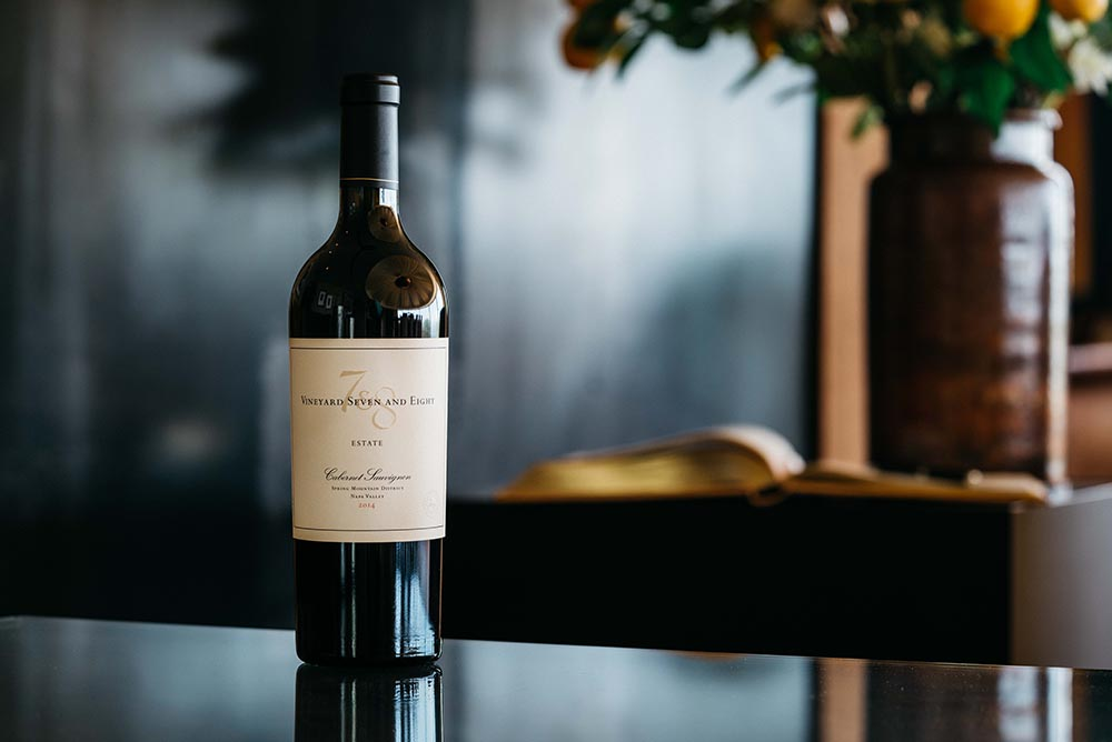 Vineyard 7&8 Cabernet Sauvignon. Beauty.