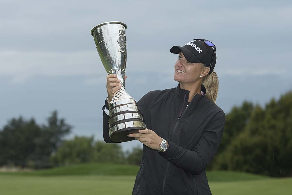 """It's a dream come true winning The Evian Championship,"" Nordqvist said"