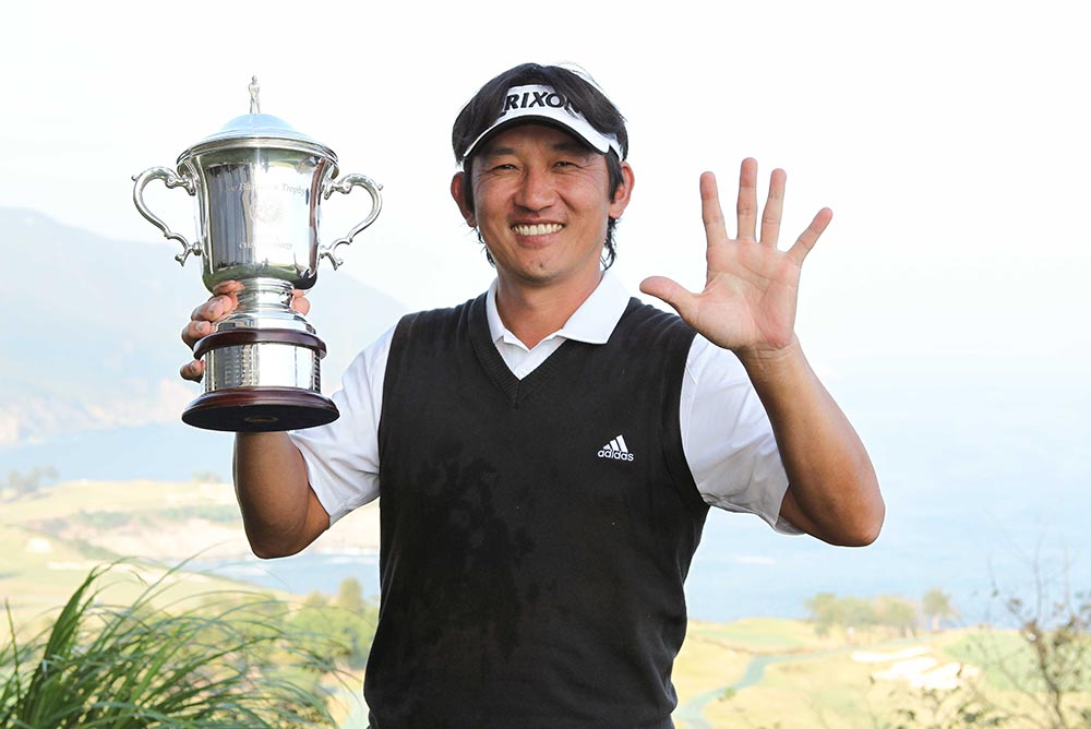Unho Park claims his fifth title in six years
