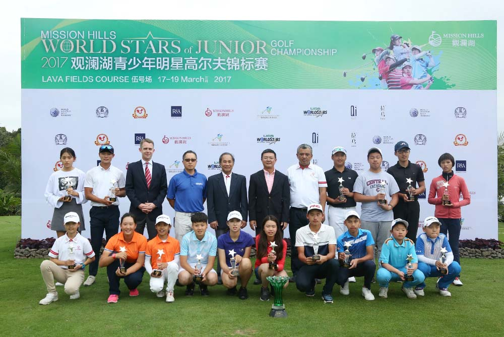 Six junior golfers have qualified for the IJGA World Stars of Junior Golf Championship