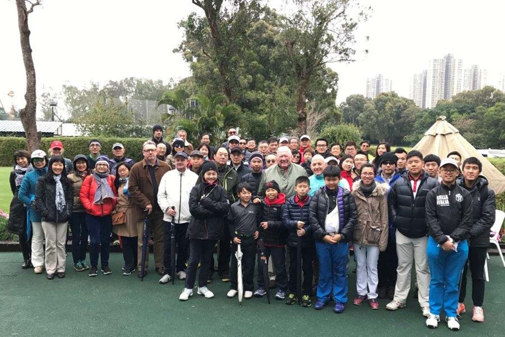Participants at the 2017 R&A Level 1 Rules School