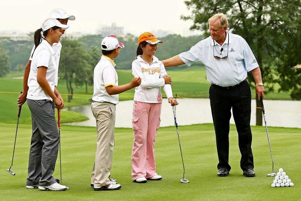"""I have enjoyed a wonderful relationship with Mission Hills,"" said Nicklaus"
