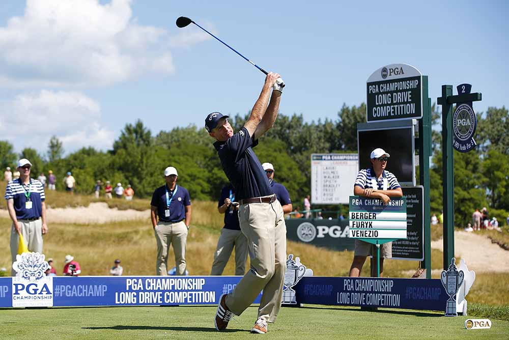 If Jim Furyk had got analytical and hung up about his backswing like all other golfers, he would be probably in a lunatic asylum