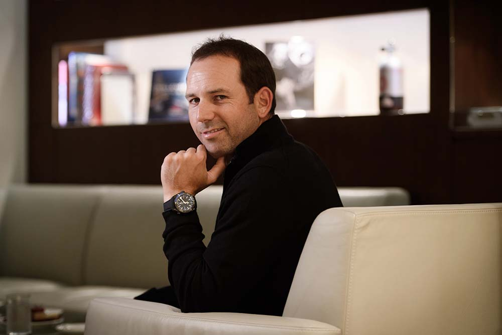 Sergio Garcia has been Omega's brand ambassador for more than 15 years