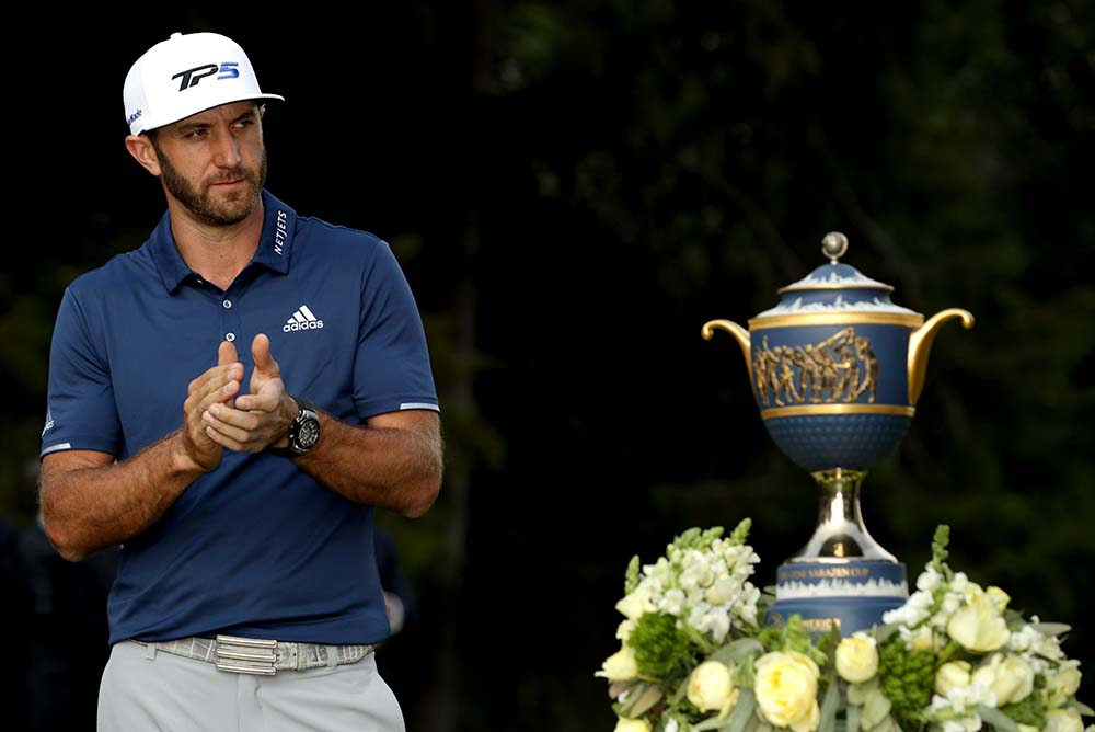 Current world No. 1 Dustin Johnson is the defending champion at the US$10 million showpiece