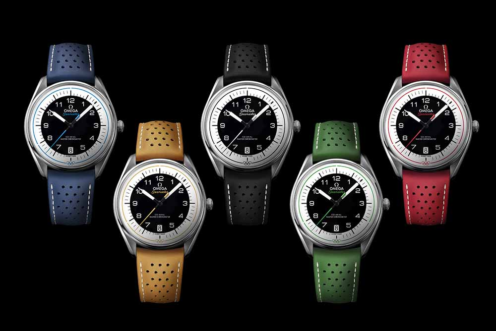 The Seamaster Olympic Games Collection
