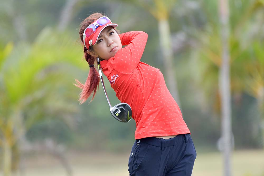 Former top amateur golfer Stephanie Ho has still got her game after a 7-year competitive layoff