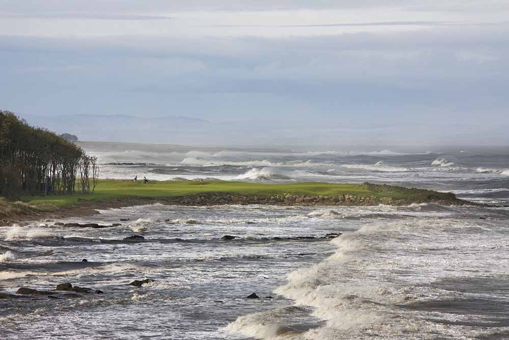 The 15th of Kingsbarns is another stunner