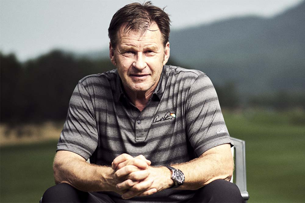 Sir Nick Faldo is most proud of achieving his goal of winning six Majors