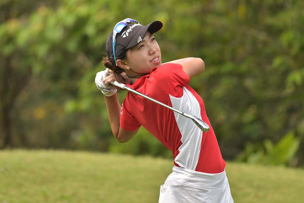 Selina Li finished runner-up in the Overall Girls' Division