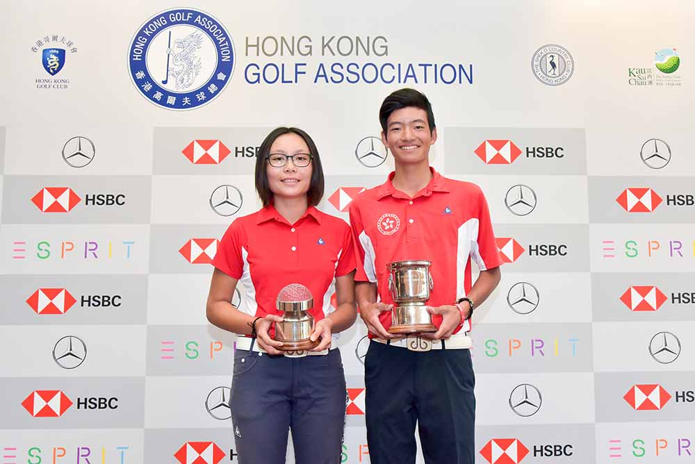 Chloe Chan and Taichi Kho, the 2018 Hong Kong Junior Close Champions
