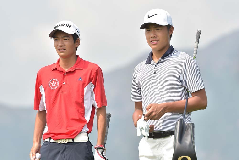 Taichi Kho and Yue Yin Ho