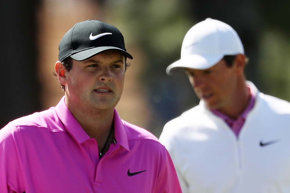 A lot was made on the Sunday's round about the Reed-McIlroy matchup