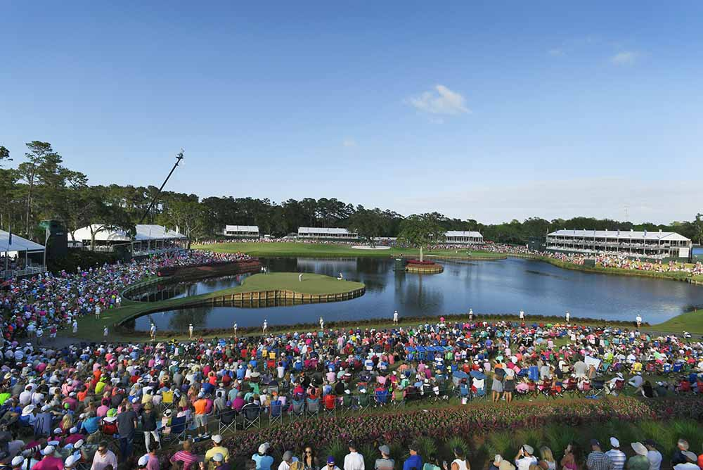 Fan experience is built into the DNA of the Pete Dye-designed TPC Sawgrass Stadium course