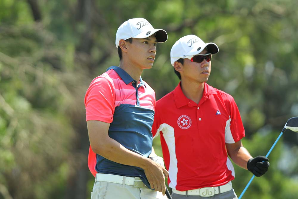 Matthew Cheung (left) and Terrence Ng (right)