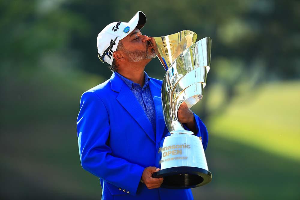 India's Rahil Gangjee won the 2018 Panasonic Open Golf Championship
