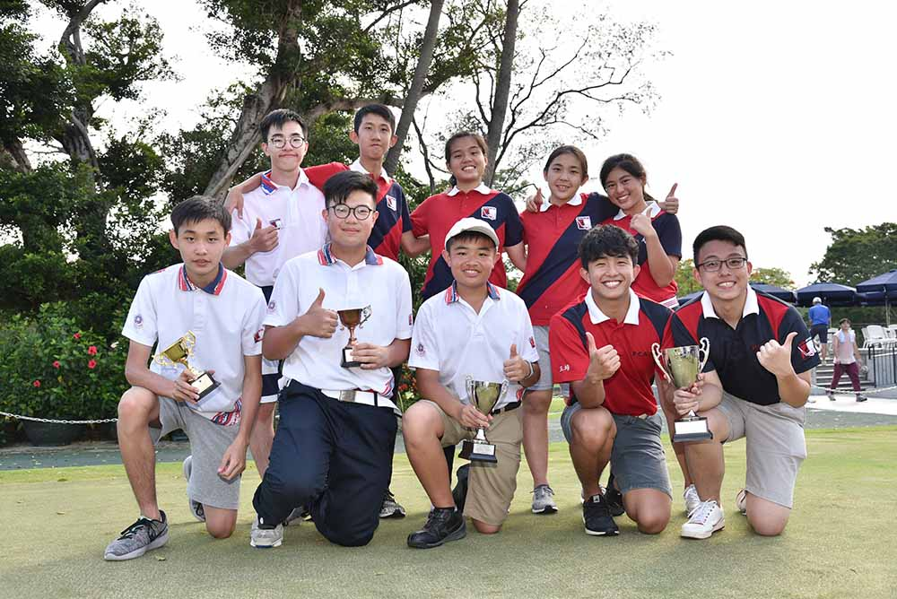 Pui Ching Middle School (Team 1) won the School Team Award for Grade A
