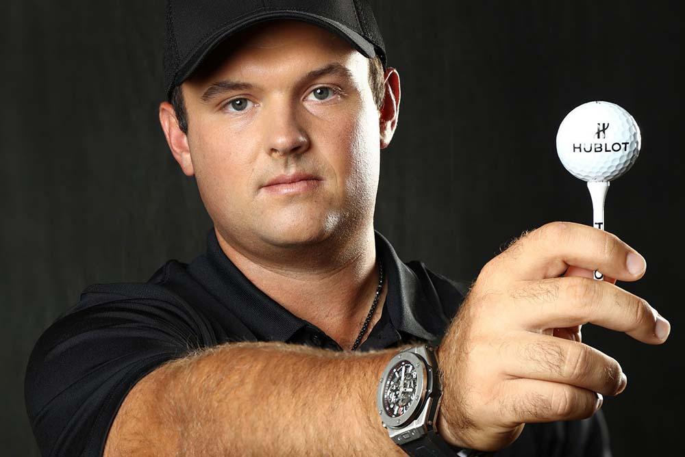 Patrick Reed and his Hublot Big Bang Unico Golf