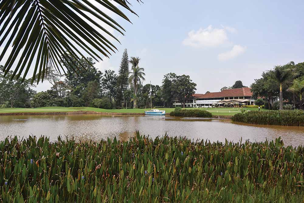 The 13th hole of Muthaiga Golf Club