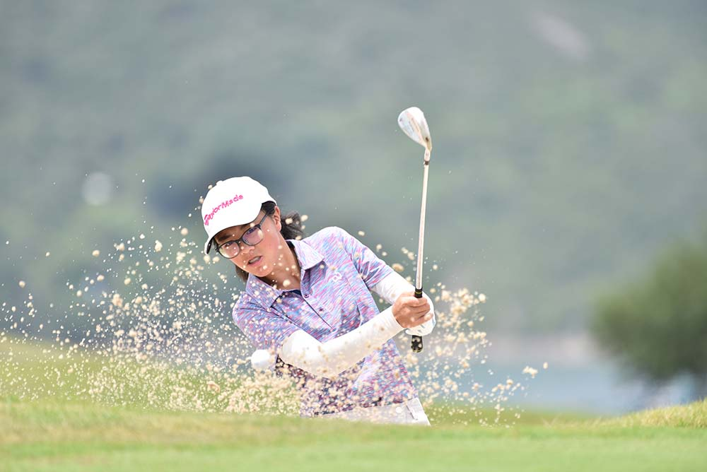 Stephanie Wong defends her Ladies' Gross division title at the HKGA June Stableford