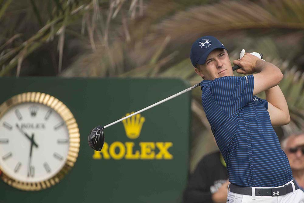 Jordan Spieth was awarded the AJGA Rolex Player of the Year in 2009