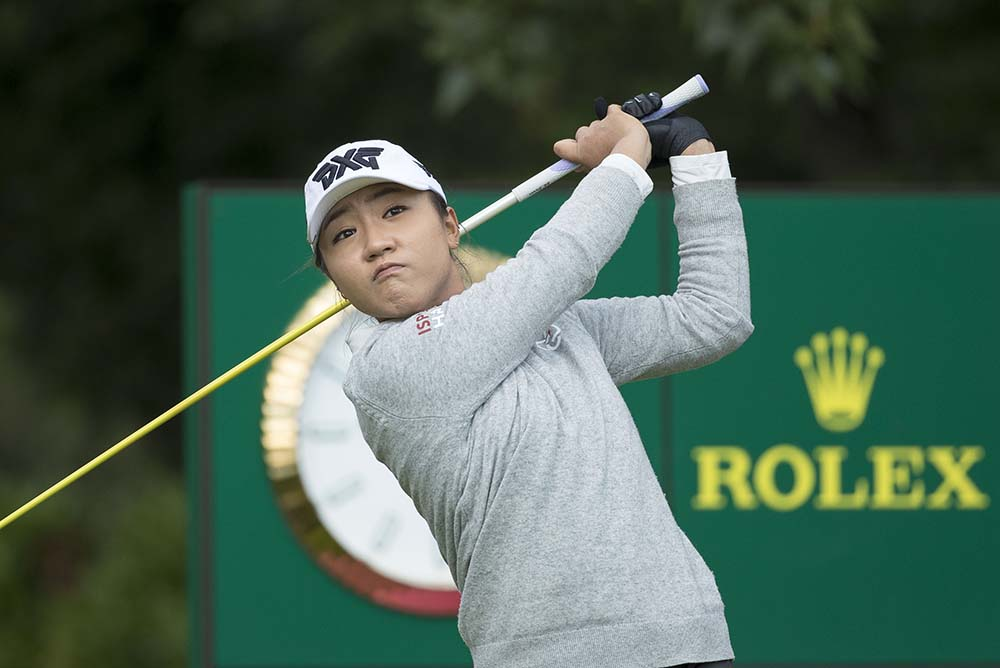 The supremely-talented New Zealander Lydia Ko