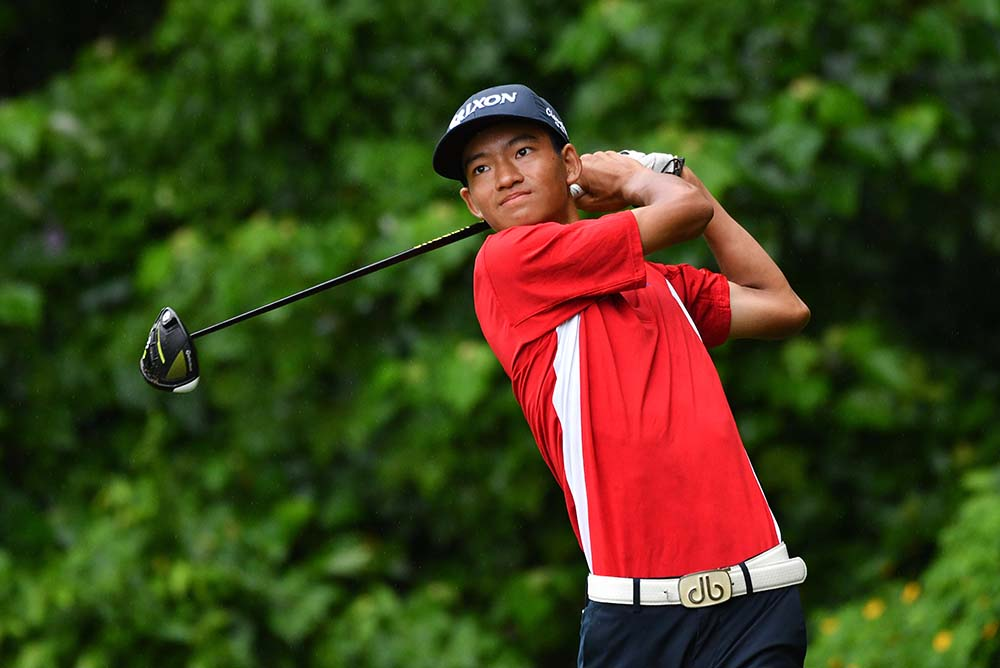Taichi Kho topped a field that featured 81 junior golfers