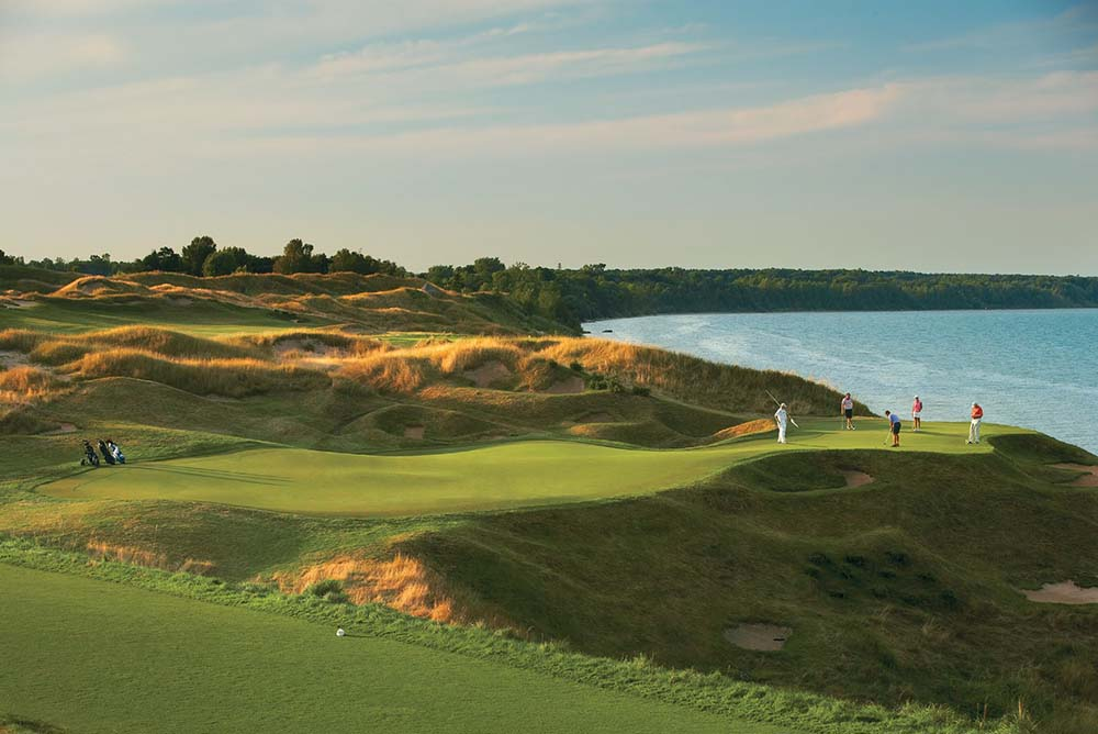 "Whistling Straits - Straits Course, Hole 12 ""Pop Up"""