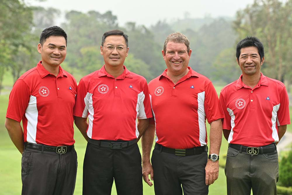 Tim Tang, Danny Lai, Gary Gilchrist and Ducky Tang
