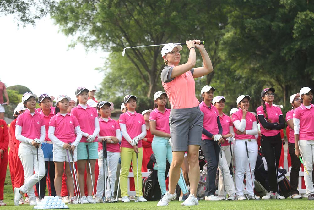 Annika Sorenstam will return to Mission Hills this April
