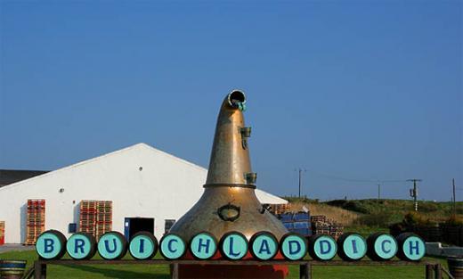 Barrels of fun - Bruichladdich distillery